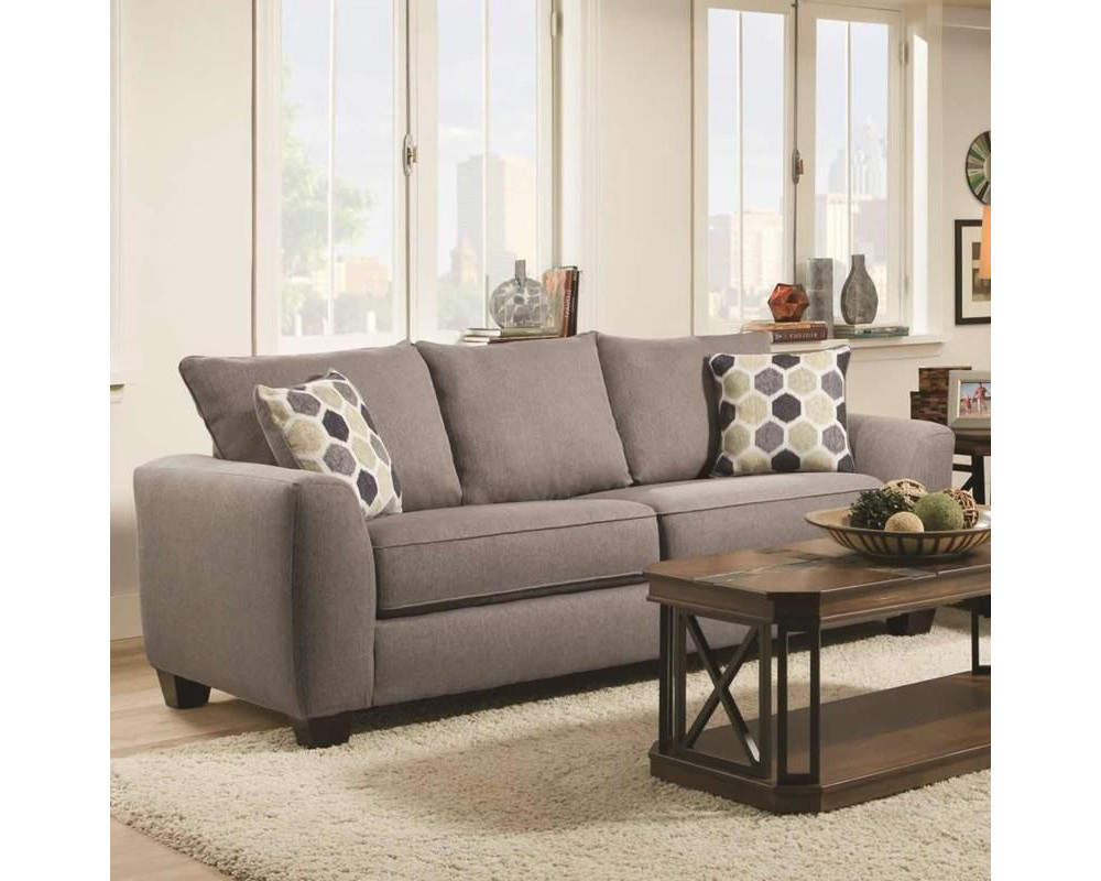 Heritage Grey Sleeper Sofa