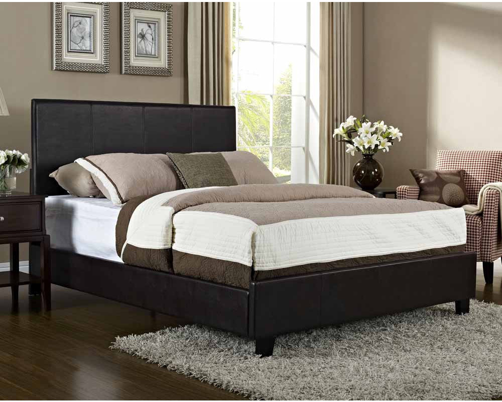 Bolton King Bed - Brown