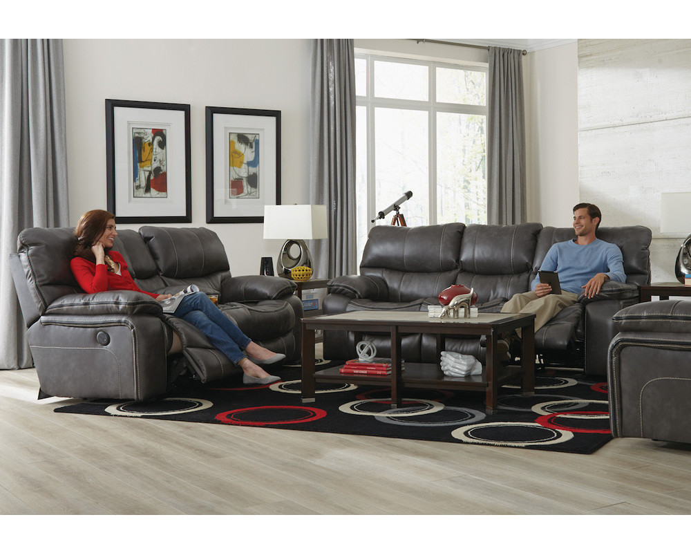 Camden Steel Motion Sofa & Loveseat