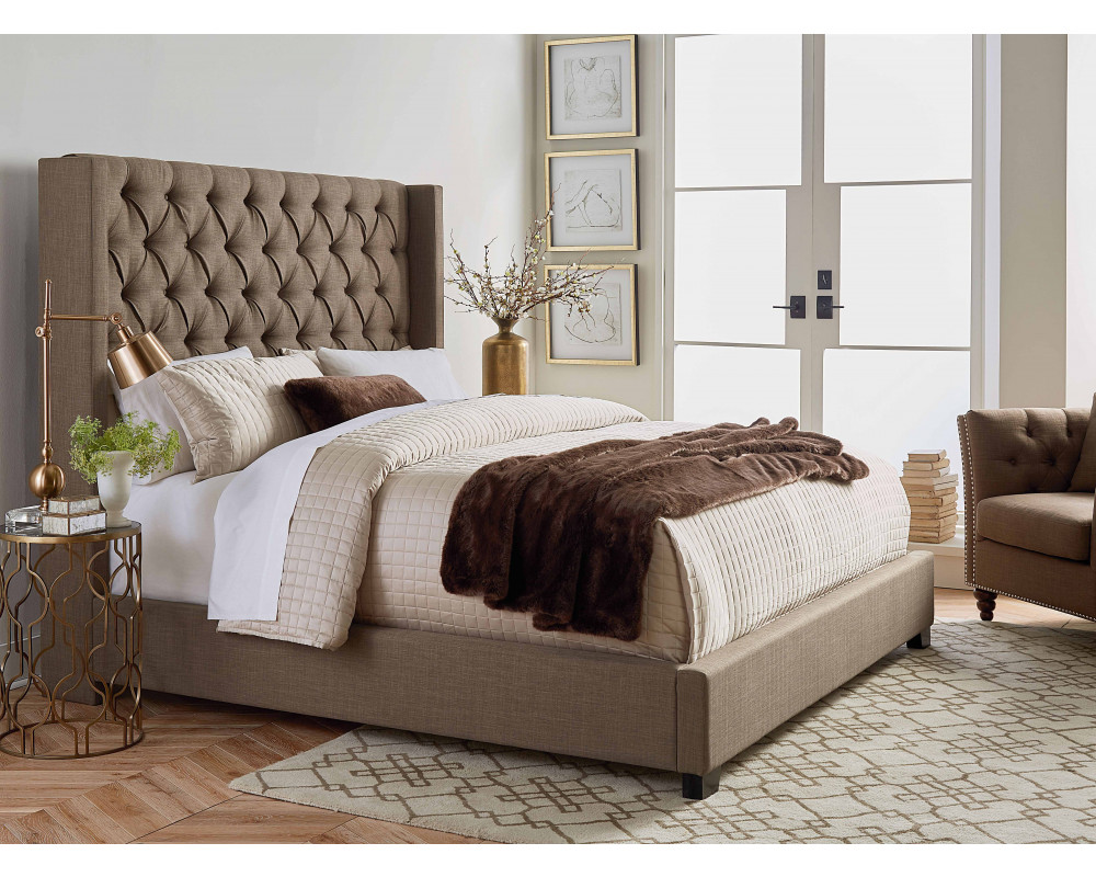 Westerly Upholstered King Bed