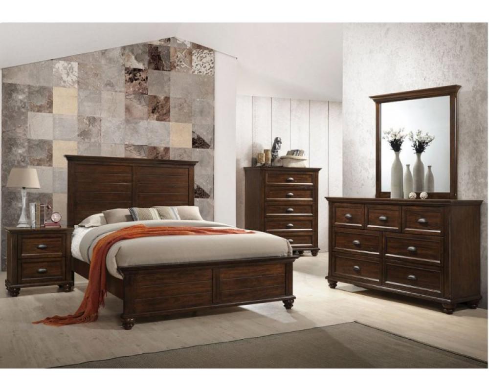 Remington King Bed, Dresser, Mirror, & Nightstand