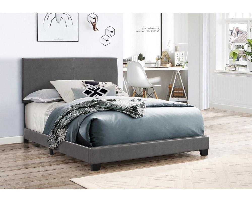 Erin Grey Twin Bed