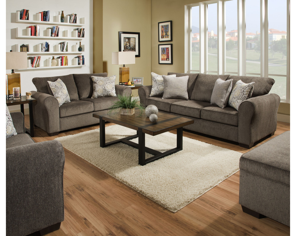 Harlow Ash Sofa & Loveseat