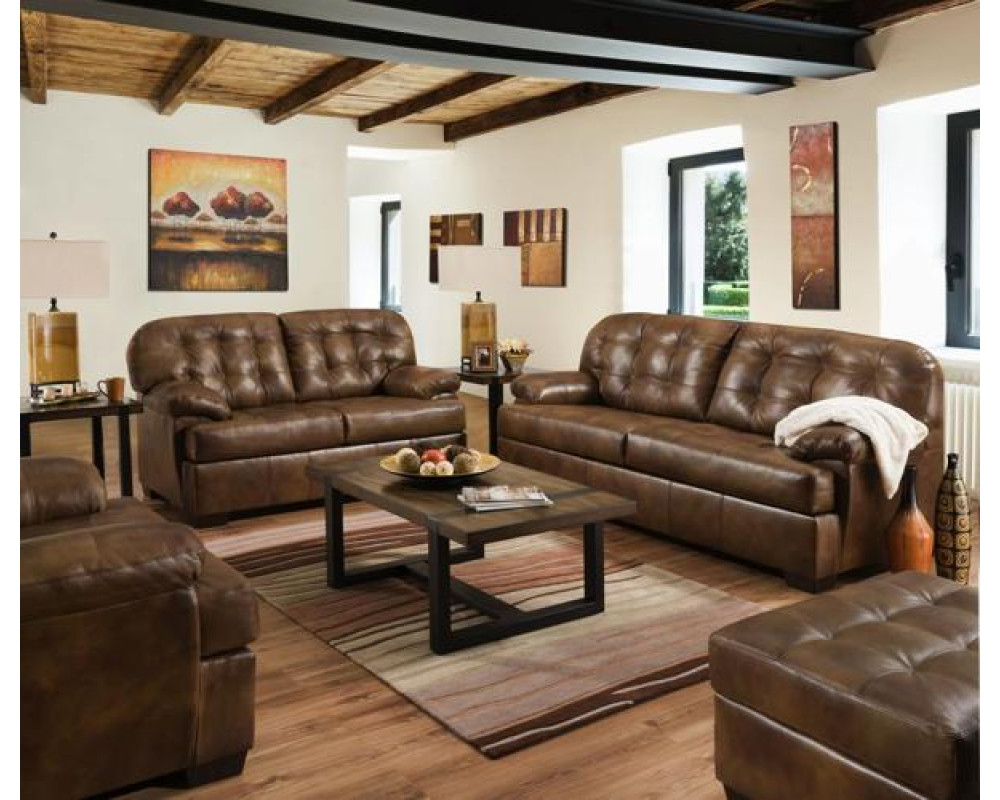 Soft Touch Chaps Sofa & Loveseat
