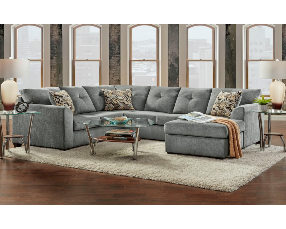 Kelly Grey Sectional