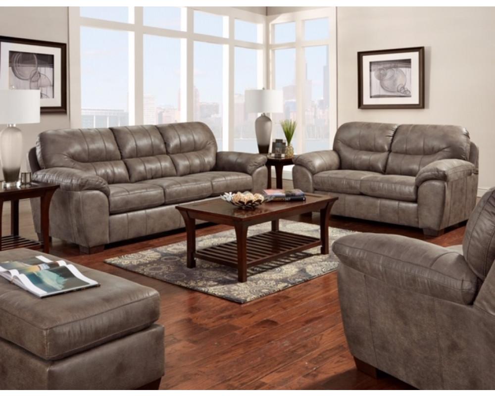 Behold Grey Sofa & Loveseat