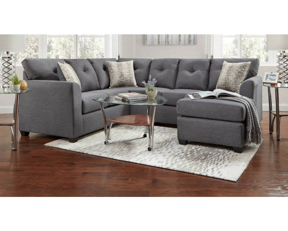 Stonewall Gray Sectional