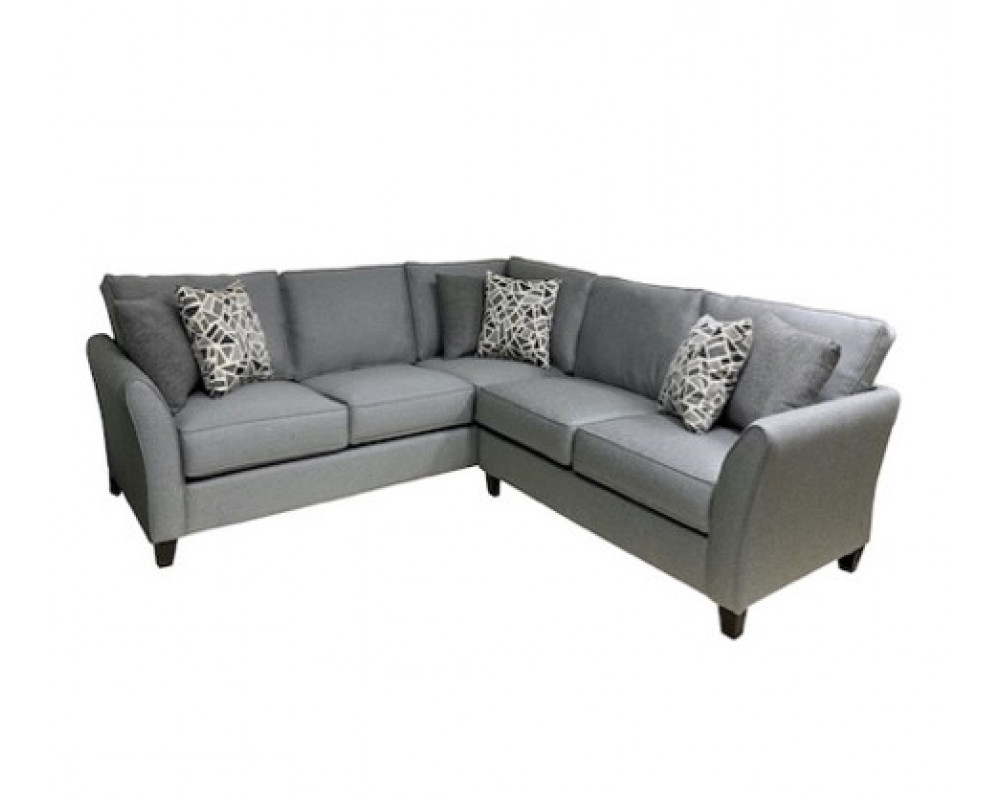 Madonna Silver Sectional