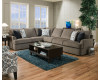Grandstand Flannel Sectional