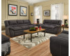 Palermo Charcoal Sofa & Loveseat