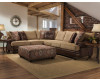 Sublime Treasure Chocolate Sectional
