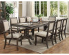Merlot Dining Table & 6 Chairs