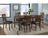 Alex Espresso Dining Table & 6 Chairs