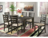 Brock Dining Table & 6 Chairs
