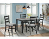 Martin Grey Dining Table & 4 Chairs