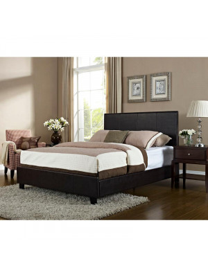 Bolton Queen Bed - Brown