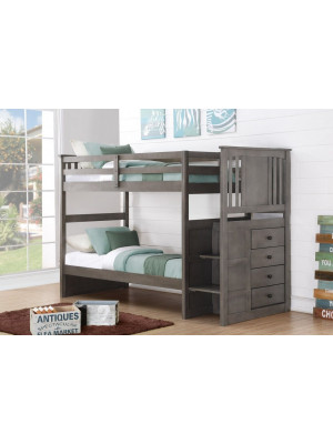Princeton Stairway Bunk with Extension Kit
