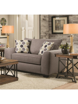 Heritage Grey Loveseat