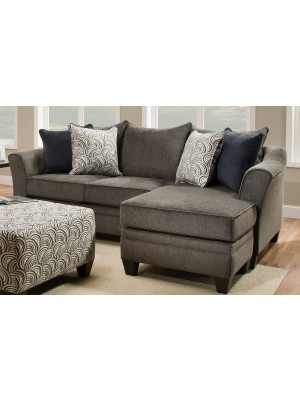 Pewter Sofa Lounger