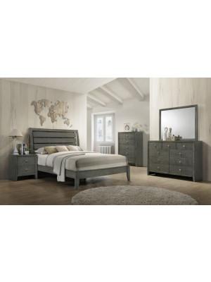 Evan Queen Bed, Dresser, Mirror, & Nightstand