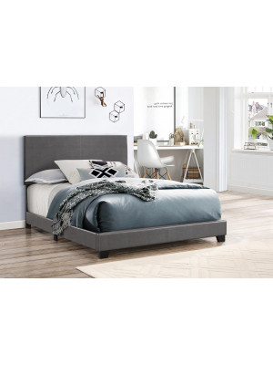 Erin Grey Twin Bed