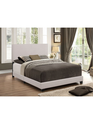 Erin Khaki Velvet Full Bed