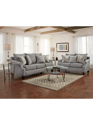 Bay Ridge Gray Sofa & Loveseat