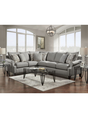 Bay Ridge Gray Sectional
