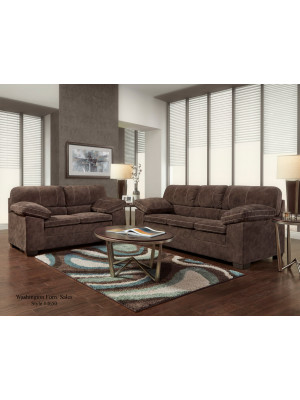 Cody Chocolate Sofa & Loveseat