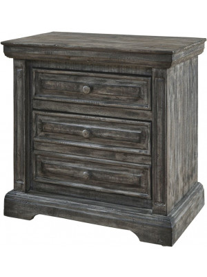 Condesa Grey Nightstand