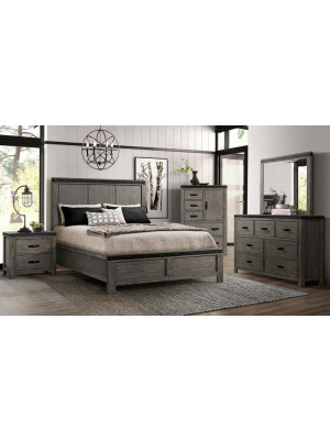 Wade Queen Bed, Dresser, Mirror, Nightstand