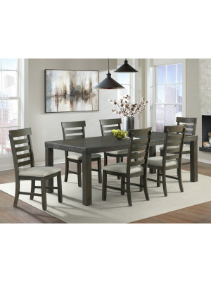 Colorado Counter Height Dining Table, 4 Chairs, & Bench