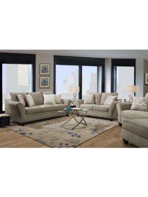 Cooper Platinum Sofa & Loveseat