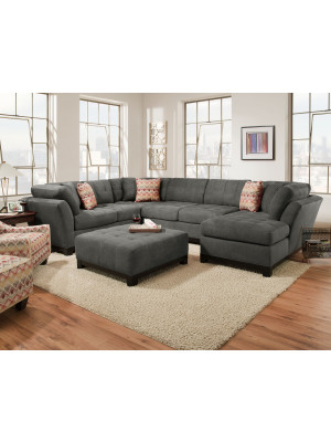 Loxley Charcoal Sectional